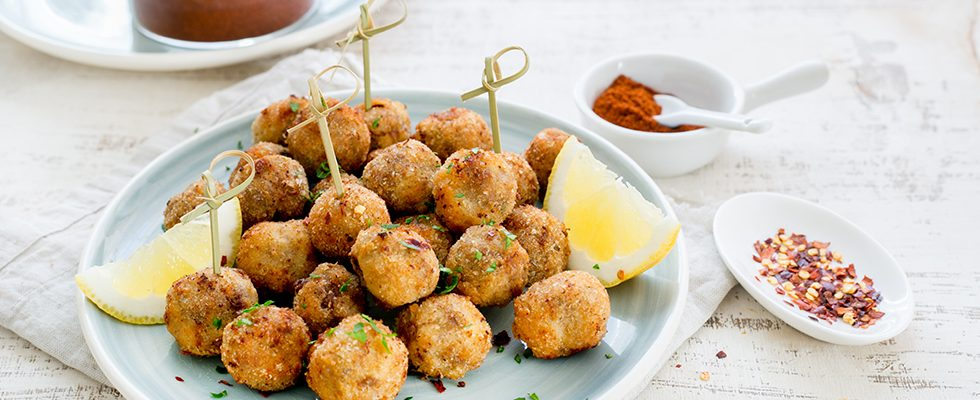 Polpette piccanti: finger food