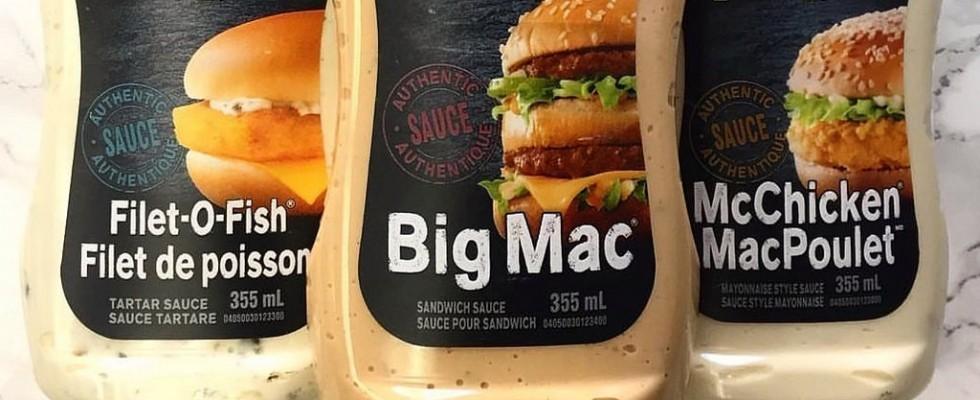 Le salse (segrete) di McDonald's arrivano nei supermercati