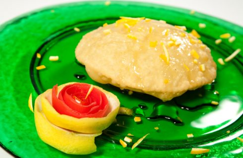 La ricetta delle seadas dolci all'arancia di Benedetta Parodi