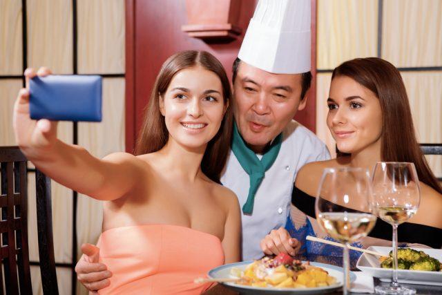foto con lo chef