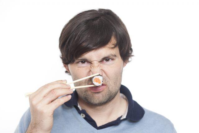 sushi fatto male