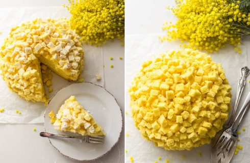 La ricetta della torta mimosa per la Festa della donna
