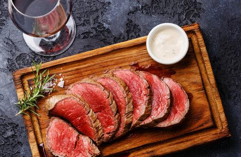 Chateaubriand con salsa bernese: cucina francese