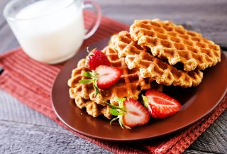 Gaufre, i waffles del Nord Europa