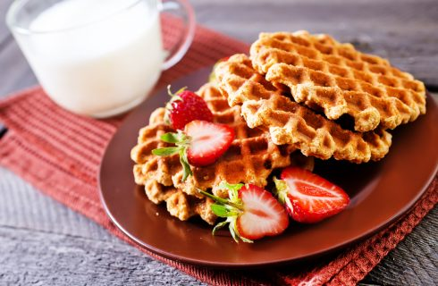 Gaufre, i waffles del Nord Europa