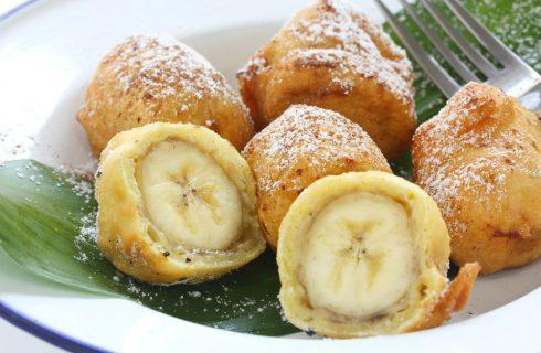 Frittelle alla frutta: le Banana fritters