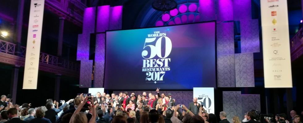 The World's 50 Best Restaurants 2017: la diretta di Agrodolce