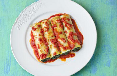 La ricetta dei cannelloni di pesce e verdure