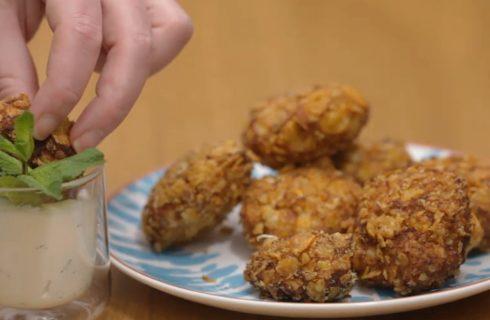 Crocchette di pollo al curry, sfizioso finger food