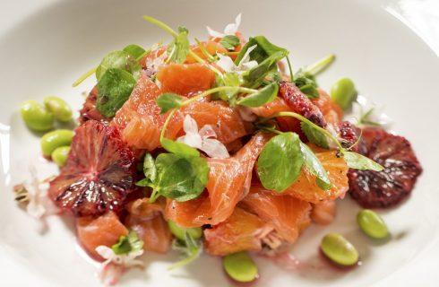 L'insalata di arance e salmone con la ricetta light