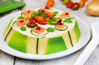 Cassata salata, reinventare la tradizione