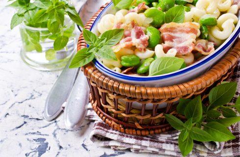Pasta e fave fresche alla calabrese: la ricetta semplice