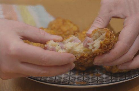Polpette di pane filanti: tutta la croccantezza dei cornflakes