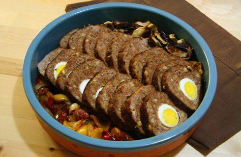 Pasqua, il polpettone ripieno di uova sode