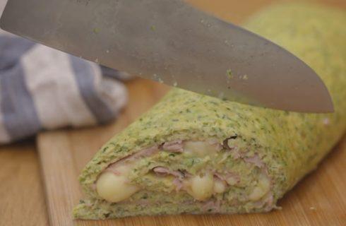 Rotolo di frittata di zucchine: un'idea per il pic-nic