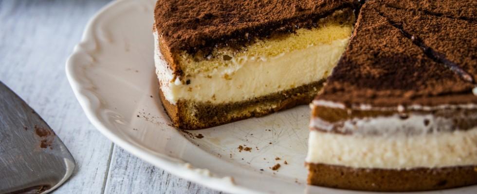Cheesecake al tiramisù, per incontrare i gusti di tutti