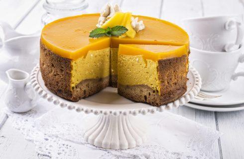 Cheesecake al mango, dolce dalla freschezza esotica