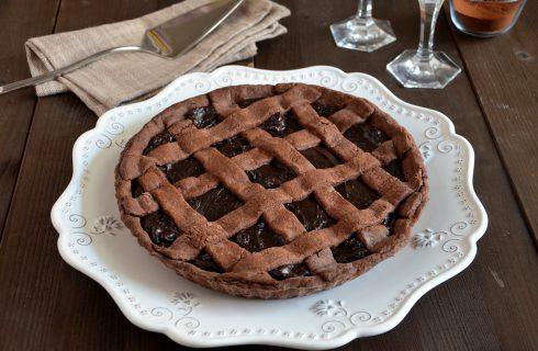 Crostata al cacao, per una merenda golosa
