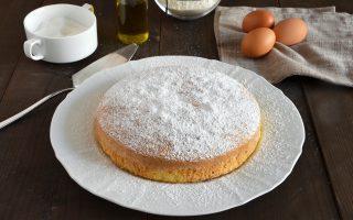 Pan di Spagna all'olio d'oliva, sano e nutriente