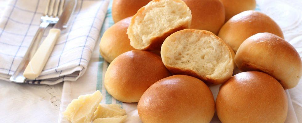 Panini al formaggio, sfiziosi