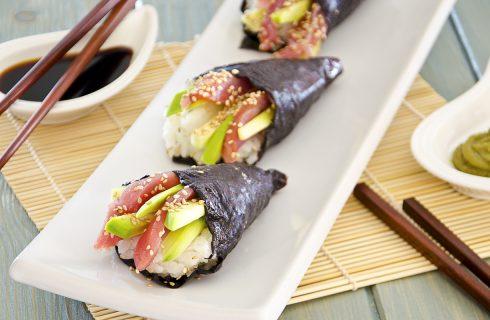 Temaki, preparare il sushi in casa