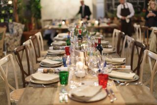 Come un supper club: le cene segrete di Tuscany People