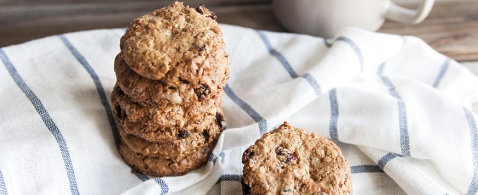 Biscotti ai cereali, sani e buoni senza latte e derivati