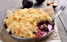 Crumble di frutta mista, la ricetta facile e veloce