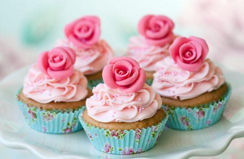 I cupcake con le rose per la Festa della mamma