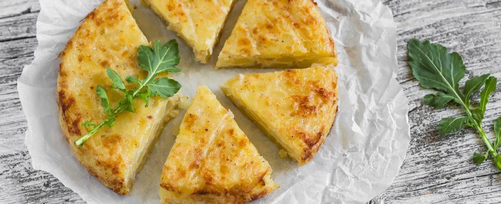 Come fare la frittata con cipolle e patate