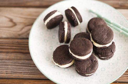 Biscotti simil Oreo, fatti in casa