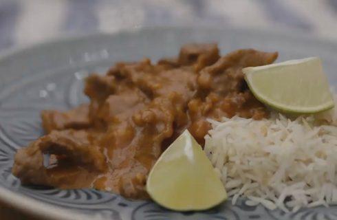 Panang curry con manzo, ricetta thailandese