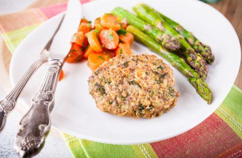 Le polpette di asparagi e patate perfette per la cena