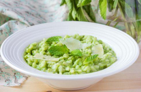 La minestra di riso e piselli con la ricetta facile e deliziosa
