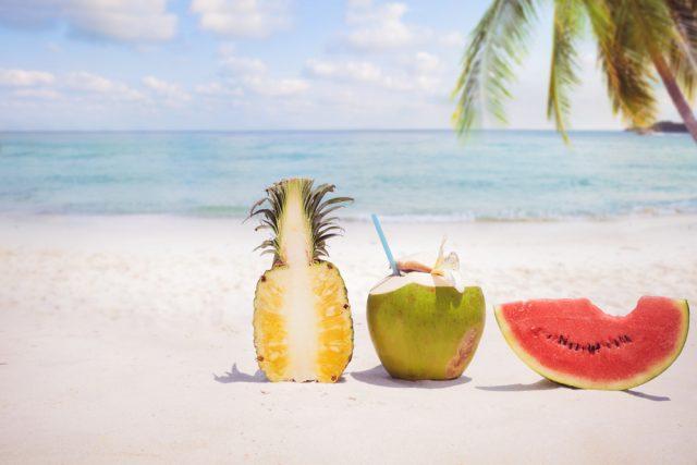 frutta spiaggia