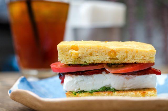 polenta sandwich