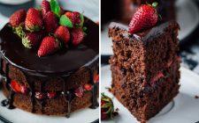 Festa della mamma: la ricetta della torta con fragole e cioccolato