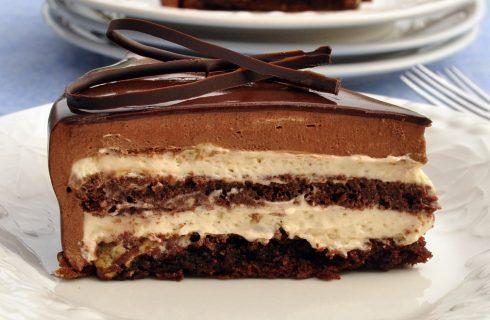 Torta setteveli, la foto ricetta spiegata passo per passo