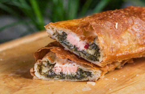 Il trancio di salmone in crosta, la ricetta