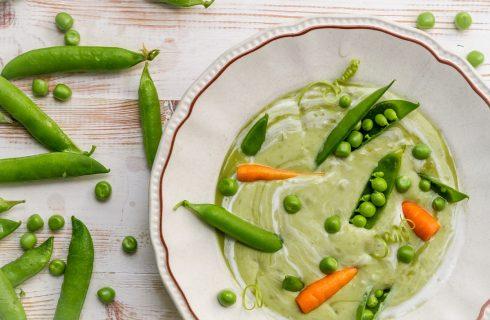 Come preparare la zuppa di piselli freschi