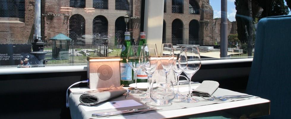 Drive Me Tasting: a Roma l'alta cucina si gusta in bus