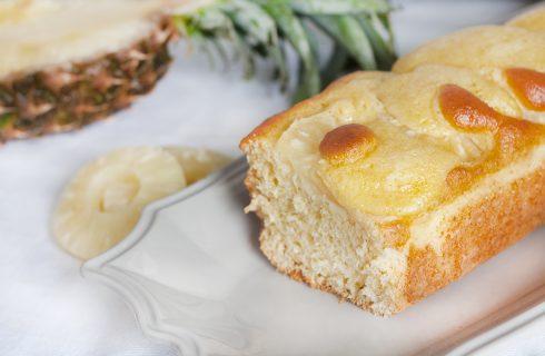 Torta con succo di ananas senza lattosio