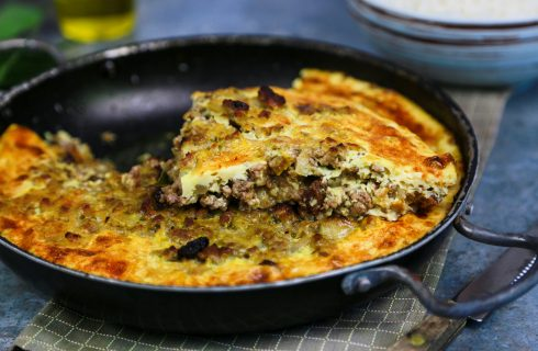 Bobotie, piatto della cucina Sudafricana
