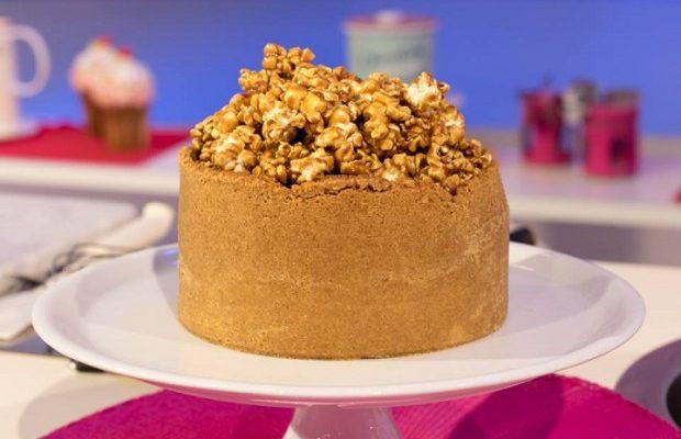 La video ricetta della cheesecake al caramello