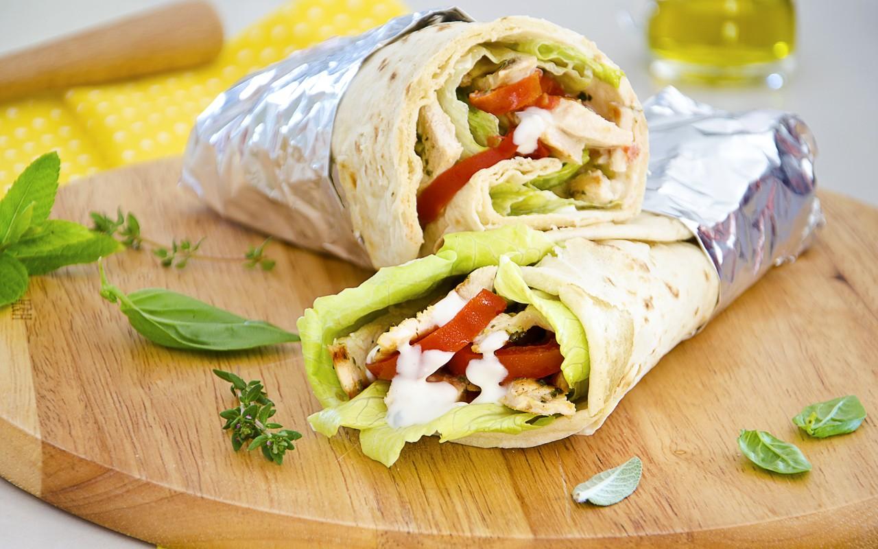 Ricetta Chicken Wrap | Agrodolce