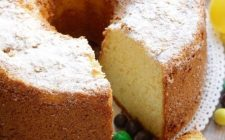 La chiffon cake con la ricetta della Prova del Cuoco