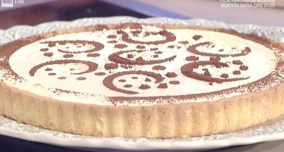 La crostata tiramisù della Prova del Cuoco con la video ricetta facile
