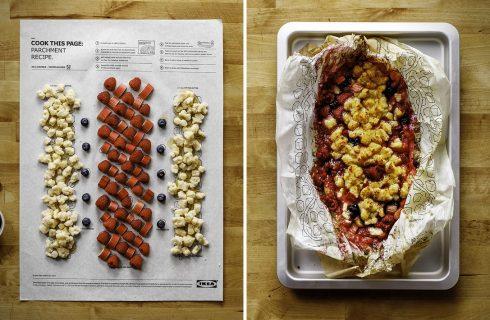 Istruzioni per l'uso: Ikea lancia i poster per cucinare