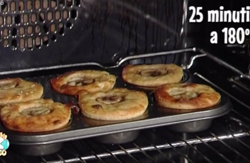 La video ricetta dei muffin alla banana della Prova del Cuoco