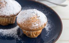 I muffin light con farina integrale e yogurt, la ricetta
